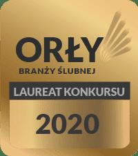 Logo Laureata Orłów Branży Ślubnej 2020